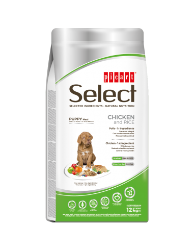 SELECT PUPPY MAXI CHICKEN & RICE -...